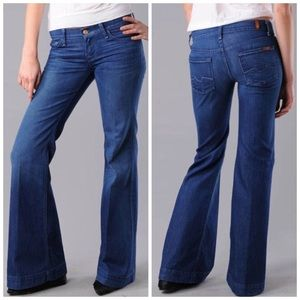 7 for all mankind 7FAM Ginger Flare Jeans 31